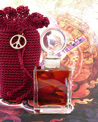 Perfume for Peace bottle