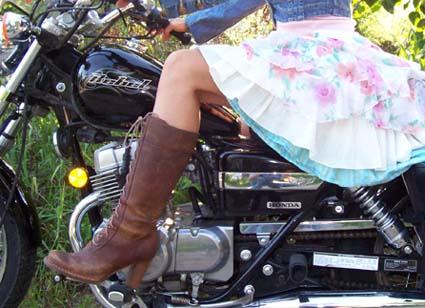 La Femme Biker