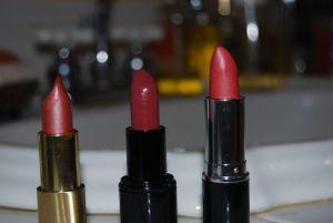 Natural Lipstick warm pinks