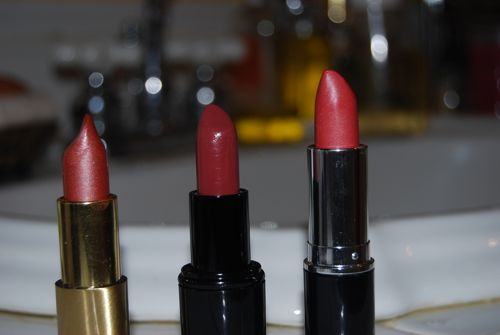 Natural Lipstick warm pinks