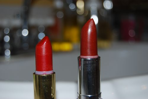 Natural Lipsticks, dramatic
