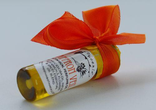 Saffron Veil Close Up